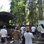 Suvepäevaliste ekskursioon kastiautoga